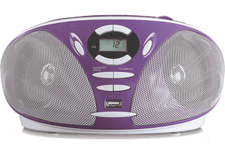 LENCO Radio portable SCD-300 Mauve