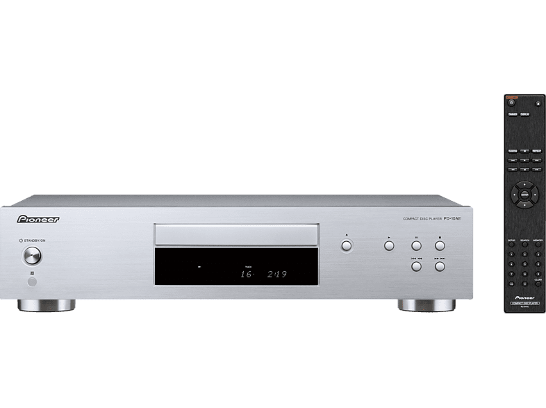 PIONEER PD-10 AE-S CD-Player (Silber)