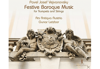 Ars Antiqua Austria - Festive Baroque Music for Trumpets and Strings - (CD)