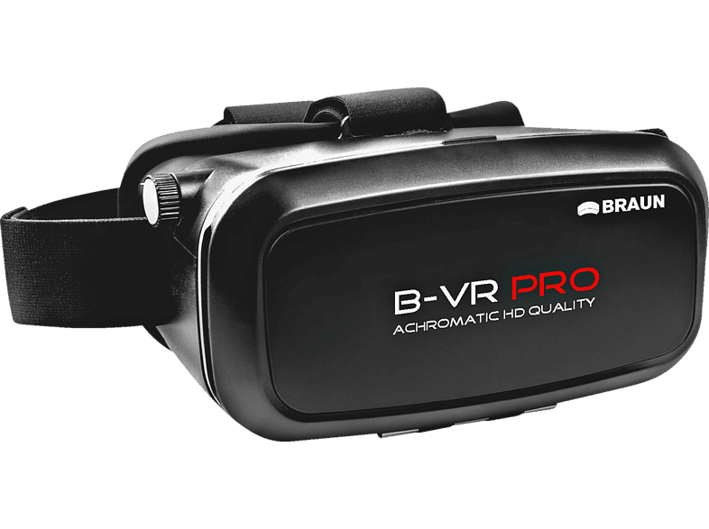 BRAUN PHOTOTECHNIK 5770 B-VR Pro Virtual Reality Brille, Schwarz