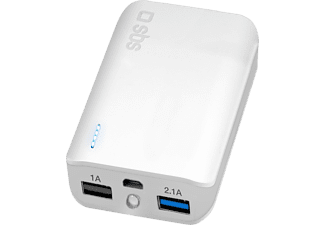 SBS MOBILE Compact Power Bank Fast Charge 10 000 mAh - Vit