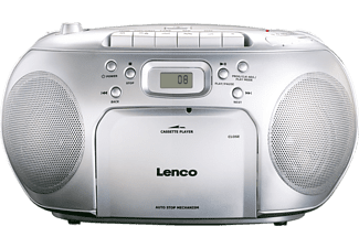 LENCO Radio CD portable SCD-420 Argenté (SCD-420SI)