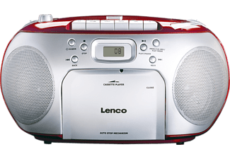 LENCO Radio CD portable SCD-420 Rouge (SCD-420RD)