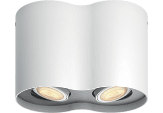 PHILIPS (LIGHT) Pillar Hue - Dual Spot - Vit