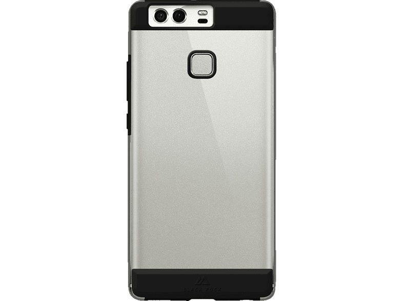 BLACK ROCK Air Protect Backcover Huawei P9 Polycarbonat/Thermoplastisches Polyurethan Schwarz