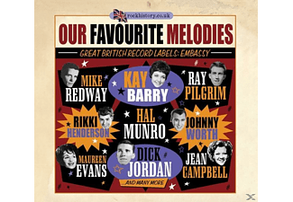 VARIOUS - Our Favourite Melodies (Embassy Records) - (CD)