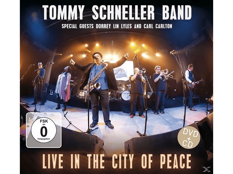 Tommy Schneller Band - Live In The City Of Peace (DVD+CD) [DVD + CD]