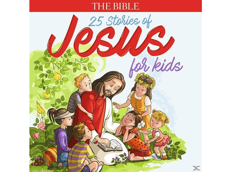VARIOUS - The Bible: Stories Of Jesus For Kinds - (CD)