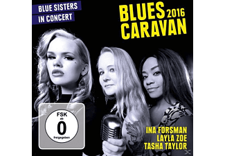 Forsman,Ina/Zoe,Layla/Taylor,Tasha - Blues Caravan 2016 - (CD + DVD Video)