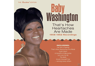 Baby Washington - That's How Heartaches Are Made-1958-62 - (CD)