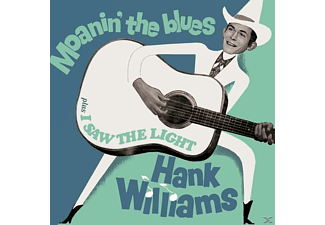 Hank Williams - Moanin' The Blues+I Saw The Ligth+6 Bonus Trac - (CD)