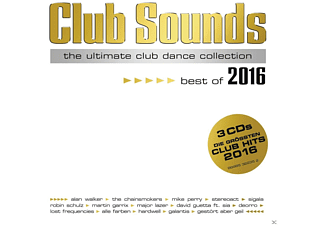 VARIOUS - Club Sounds-Best Of 2016 - (CD)