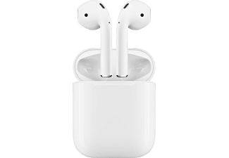 APPLE AirPods, In-ear, True Wireless Kopfhörer, Weiß