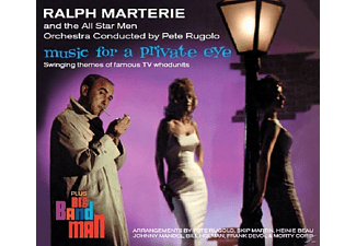 Ralph & All Star Men Orchestra Marterie - Music For A Private Eye - (CD)