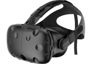 HTC Vive, Virtual Reality Brille, Schwarz