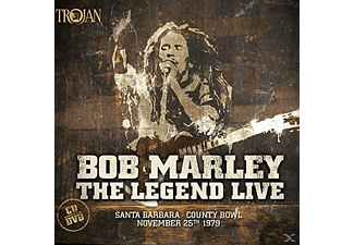 Bob Marley, The Wailers - Legend Live-Santa Barbara Coun - (CD + DVD Video)