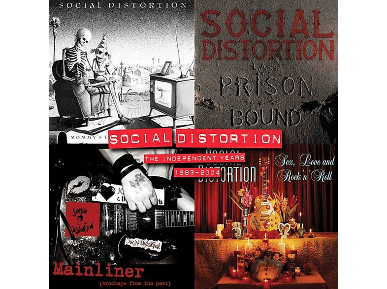 Social Distortion - The Independent Years: 1983-2004 [Vinyl]
