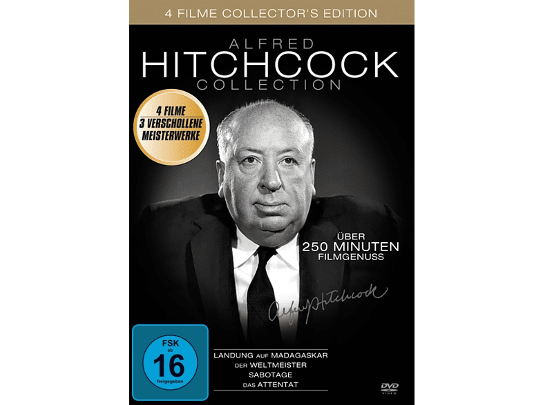 Alfred Hitchcock Collection, Vol.1 [DVD]