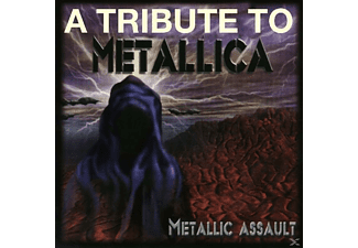 VARIOUS - Metallic Assault Metallica Tribute - (CD)