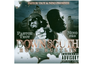 Pastor Troy, Downsouth - Hood Hustlin - (CD)