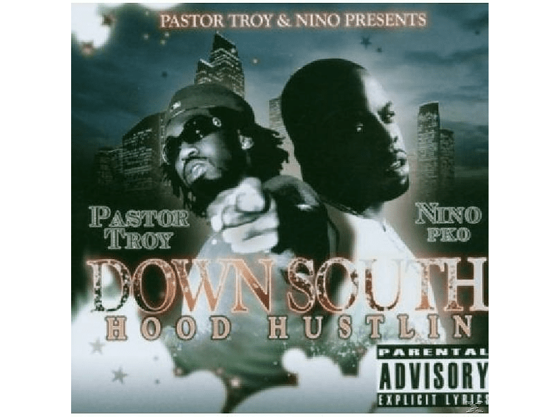 Pastor Troy, Downsouth - Hood Hustlin [CD]