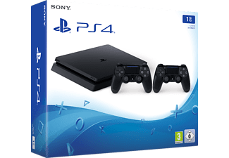SONY PS4 1TB F Chassis Black μαζί με 2o Dualshock 4