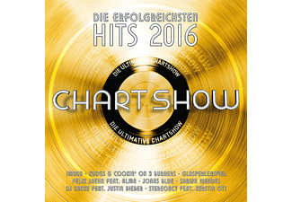 VARIOUS - Die Ultimative Chartshow-Hits 2016 - (CD)