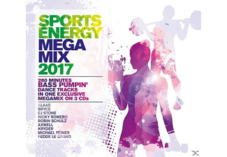 VARIOUS - Sports Energy Megamix 2017 - (CD)
