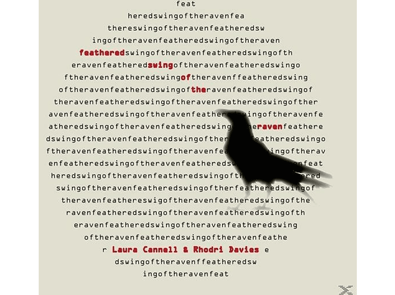 Laura & Rhodri Davies Cannell - Feathered Swing Of The Raven [CD]