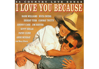 VARIOUS - 24 COUNTRY LOVE SONGS - (CD)
