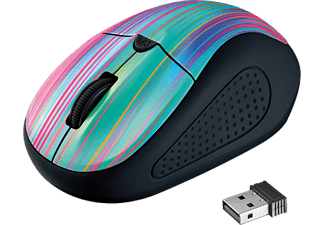 TRUST Souris sans fil Primo Black Rainbow (21479)