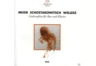 VARIOUS - Meier/Schostakowitsch/Wellesz - (CD)