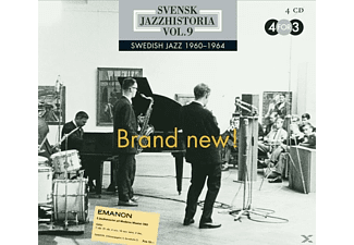VARIOUS - Svensk Jazz Historia Vol.9 - Brand New! - (CD)