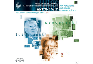 Ivan Monighetti, Adam Klocek, Kazimierz Koslacz, Jaroslaw Malanowicz, National Choir Of Poland, National Orchestra Of Poland - Messe Für Chor Und Orchester - (CD)