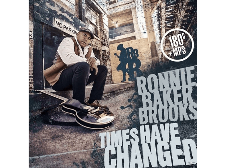 Ronnie Baker Brooks - Times Have Changed (180 Gr.LP+MP3) [LP + Download]