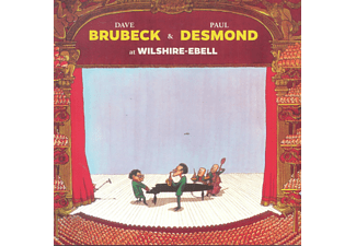 Dave Brubeck, Paul Desmond - At Wilshire-Ebell / Jazz at the Black Hawk (CD)
