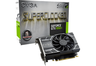 EVGA GeForce® GTX 1050Ti SC Gaming 4GB (04G-P4-6253-KR)( NVIDIA, Grafikkarte)