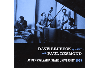 Dave Brubeck Quartet, Paul Desmond - At Pennsylvania State University 1955 (CD)