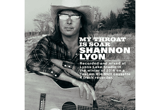 Shannon Lyon - My Throat is Sore - (CD)