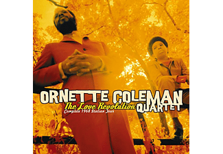 Ornette Coleman Quartet - Love Revolution - Complete 1968 Italian Tour (CD)