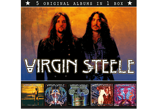 Virgin Steele - VIRGIN STEELE (5 Original Albums In 1 Box) - (CD)
