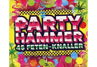 VARIOUS - Party Hammer,45 Feten-Knaller - (CD)