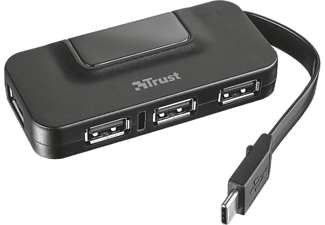 TRUST 21320 USB-C 4 Port USB 2.0 Hub Type-A