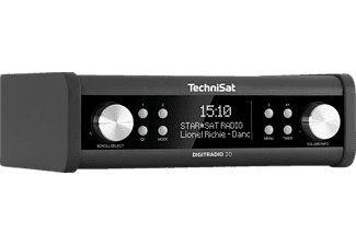 TECHNISAT DIGITRADIO 20 - Küchenradio (DAB+, FM, Anthrazit)