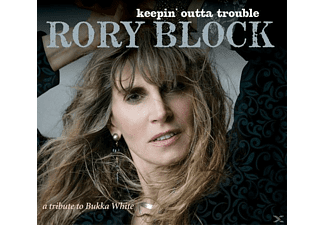 Rory Block - Keepin' Outta Trouble-A Tribute To Bukka White - (CD)