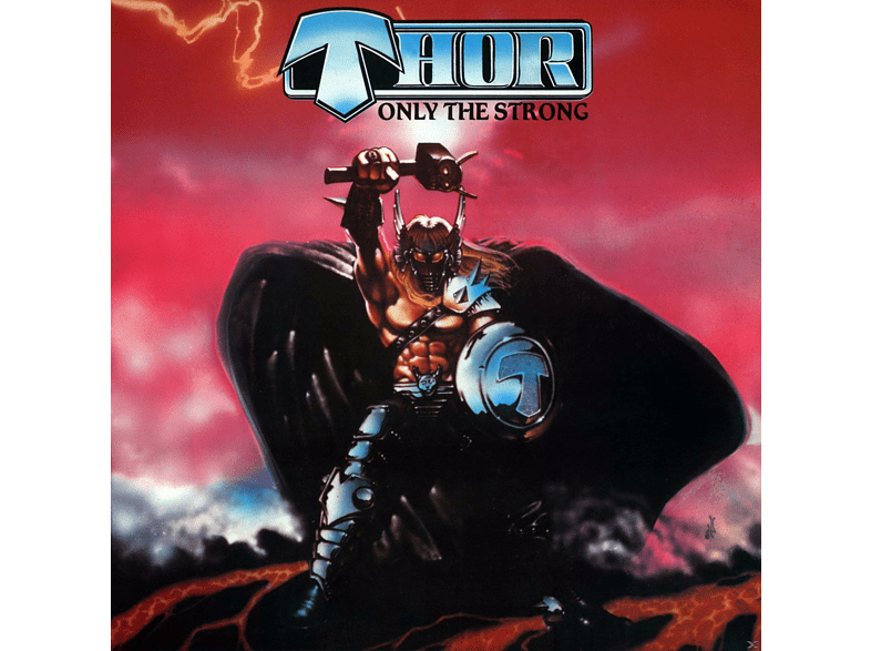 Thor - Only The Strong-Deluxe Edition [CD + Buch]