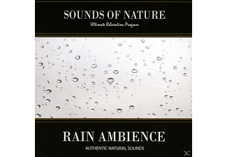 Relaxing Sounds Of Nature - Rain Ambience - (CD)