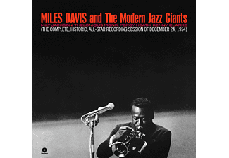Miles Davis, The Modern Jazz Giants - Complete Historic All Star Reconding: Dec 24, 1954 (High Quality Edition) (Vinyl LP (nagylemez))