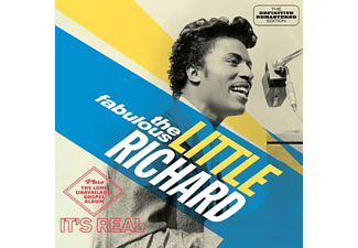 Little Richard - The Fabulous Little Richard/It´s Real (CD)