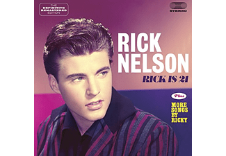 Ricky Nelson - Rick Is 21/More Songs By Ricky (CD)